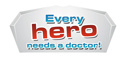 Every hero needs a doctor